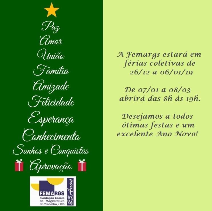 96f608603 Femargs - Fundação Escola de Magistratura do Estado do Rio Grande do Sul